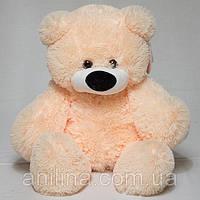 Плюшевый медведь 55 см Персиковый