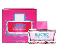 Женская туалетная вода Antonio Banderas Electric Seduction Blue . духи бандерос женские.