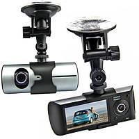 Автомобильный видеорегистратор DVR R300 HD 720p 140 градусов 3 камеры с камерой заднего вида