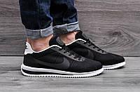 Мужские кроссовки Nike Cortez Ultra BR Black реплика р.41 - 25,5см