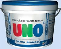 Краска акриловая белоснежная UNO ULTRA BIANCA 14кг, фото 1