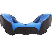 Капа боксерская Venum Predator Черная с синим