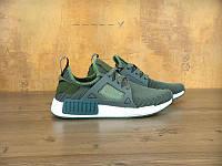 Мужские кроссовки Adidas NMD XR1 оливковый