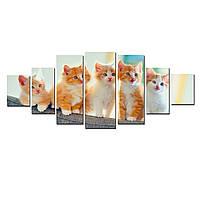 Модульные Светящиеся Большие Картины Милые Котята Мир Животных Декор Стен Дизайн Интерьер Домашние Животные