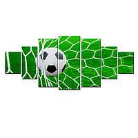 Модульные Светящиеся Большие Картины Футбольный Мяч Мир Спорта Декор Стен Дизайн Интерьер 7 частей