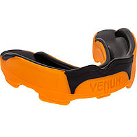 Капа боксерская Venum Predator Черная с оранжевым