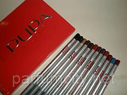 Контурные карандаши для губ и глаз Pupa Non Conventional Beauty (Пупа Нон Конвеншонал Бьюти)