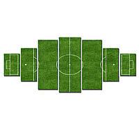 Модульные Светящиеся Большие Картины Футбольное Поле Мир Спорта Декор Стен Дизайн Интерьер 7 частей