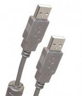 Кабель  USB 2.0 АM/AM 3 m, с ф/фильтром