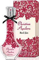 Женская парфюмированная вода Christina Aguilera Red Sin . агилера духи