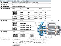 Насос центробежный, многоступенчатый Pedrollo 2CP25/16А, 2200 Вт, 9,6 м3/ч, 68 м