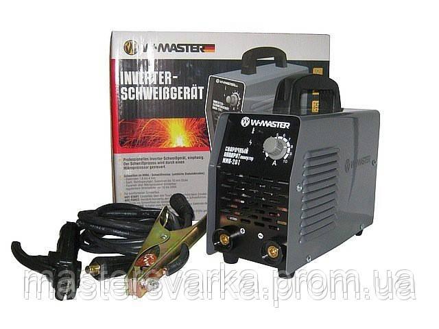 Сварочный инверторный аппарат WMaster MMA 201