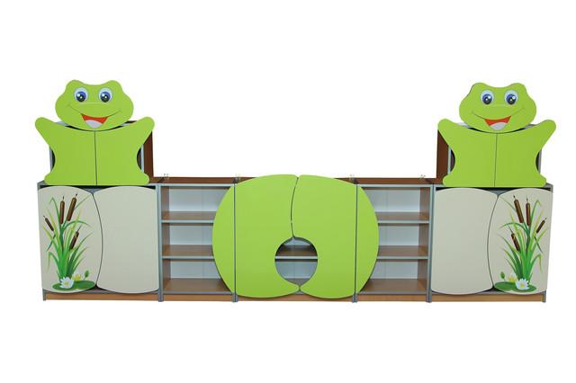 """Стенка для детского сада  """"Лягушата"""""""