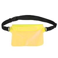 Универсальная водонепроницаемая сумка желтая, фото 1
