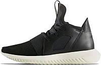 Женские кроссовки Adidas Tubular Defiant Black/White