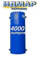 Аккумуляторный бак (буферная емкость) для котлов Идмар 4000 литров