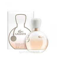 Женская парфюмированная вода Lacoste eau de lacoste pour femme, лакост духи женские