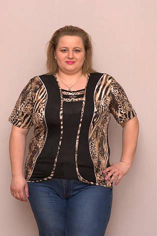 Блузка женская батальная TC, фото 2