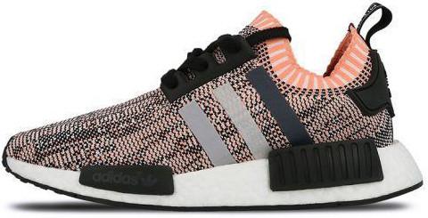 Женские кроссовки Adidas NMD R1 Glitch Pink Camo BB2361, Адидас НМД