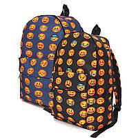 Водонепроницаемый рюкзак для школы 3d смайлик