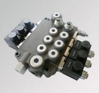 Гидрораспределители моноблочные с электромагнитным управлением Z80ES (до 6-ти золотников)