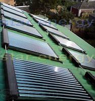 Предложение системы с использованием СВК  на 250 л/сутки горячей воды и поддержкой отопления площадью 200 м.кв