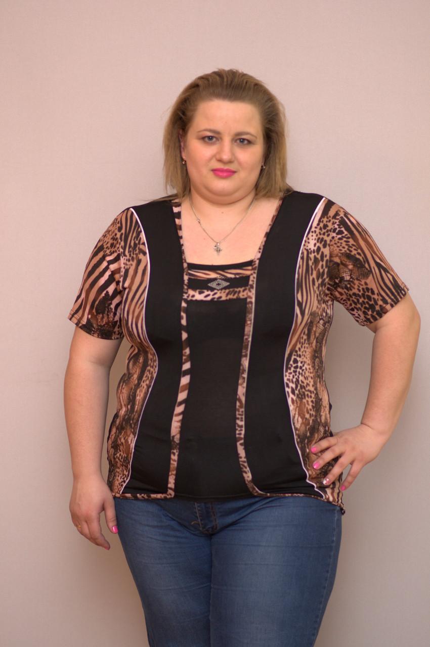 Блузка женская батальная TC