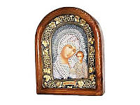 Казанская икона Божией Матери 19х24