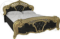 Кровать двуспальная «Реджина блек» MiroMark