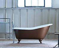 Классическая чугунная ванна на ножках в ретро стиле BORDEAUX