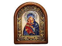 Владимирская икона Божией Матери 19х24
