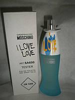 Moschino Cheap and Chic I Love Love ,тестер .духи москино красные. духи москино фото.