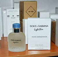 Dolce & Gabbana Light Blue pour Homme тестер. парфюм лайт блю.  туалетная вода дольче габбана лайт блю.