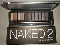 Тени для век Urban Decay Naked2 12 цветов (Урбан Декей Нейкед2)