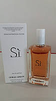 Женская парфюмерная вода Giorgio Armani Si  тестер. армани духи женские си. духи си армани фото.