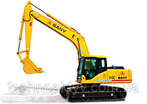 Экскаватор SANY Гусеничные экскаваторы Sany обладают увеличенным сроком службы за счёт высокой прочности конструкции. Низкий расход топлива сочетается с высокой эксплуатационной эффективностью. Экскаваторы Sany также отличает удобство ремонта и обслуживания.  SY200C5SY210C5SY230C5SY310