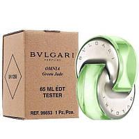 Bvlgari Omnia Green Jade тестер. булгари зеленые духи. духи булгари женские.