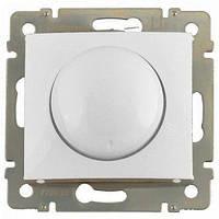 Светорегулятор (диммер) 40-400 Вт поворотный, белый, Legrand Valena Легранд Валена