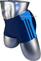 Подростковые плавки боксеры для купания 12-028-2 синий