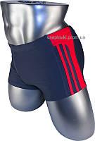 Подростковые плавки боксеры для купания 12-028-3 серый