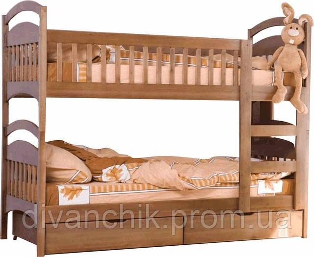 Кровать двухярусная детская-чердак «АРИНА-КАРИНА»  Черкассы - Салон «ДИВАНЧИК» в Черкассах