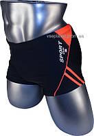 Подростковые плавки боксеры для купания 12-034-1 черный