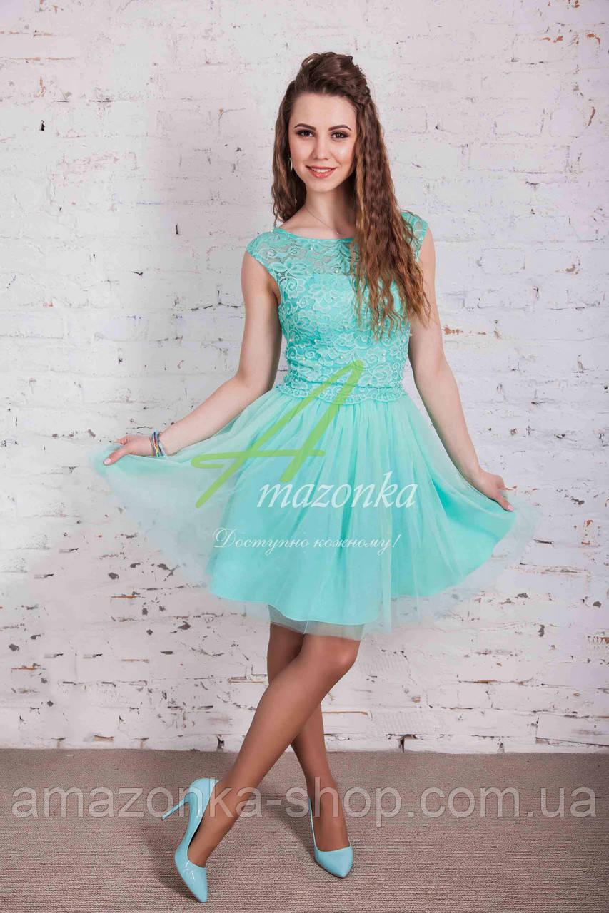 Платье на выпускной для девушек 2018 - Код пл-182