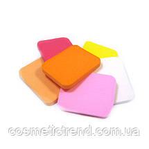 Набір професійних спонжей для нанесення і зняття макіяжу Lily S1405 (6 шт/комплект), фото 3