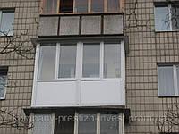 Заказать пластиковый балкон «под ключ» Макеевка цена