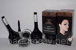 Тени для бровей и подводка для глаз Chanel 2в1