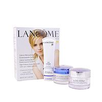 """Косметический набор кремов для лица в подарочной упаковке, 3 в 1- по 50 мл, Lancome """"Blanc Expert"""""""