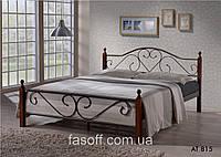 Кровать двуспальная AT815 120*200 Onder Mebli Малайзия