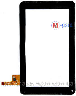 "Тачскрин (сенсорный экран) 7"" Globex GU701, Modecom FreeTab 2096, Aigo Pad709 (p/n: silead_HLD_0726 ) черный, фото 2"