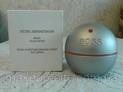 Тестер Boss in Motion Hugo Boss.